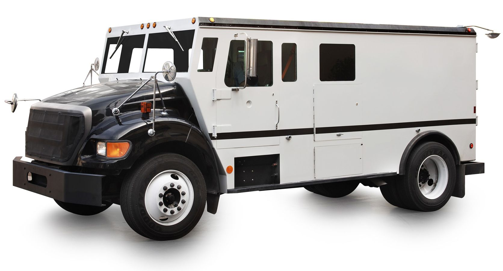Unmarked Armored Truck