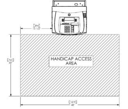 handicap access area