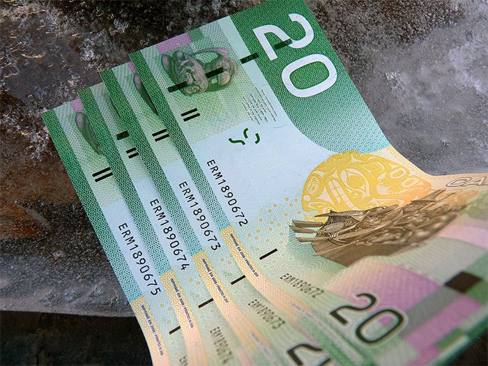 Canadian $20 bills