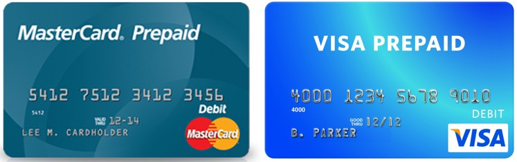 mastercard visa prepaid cards - Reloadable Prepaid Credit Cards