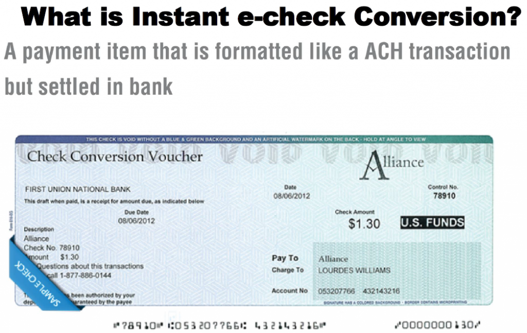 what-is-instant-echeck-conversion
