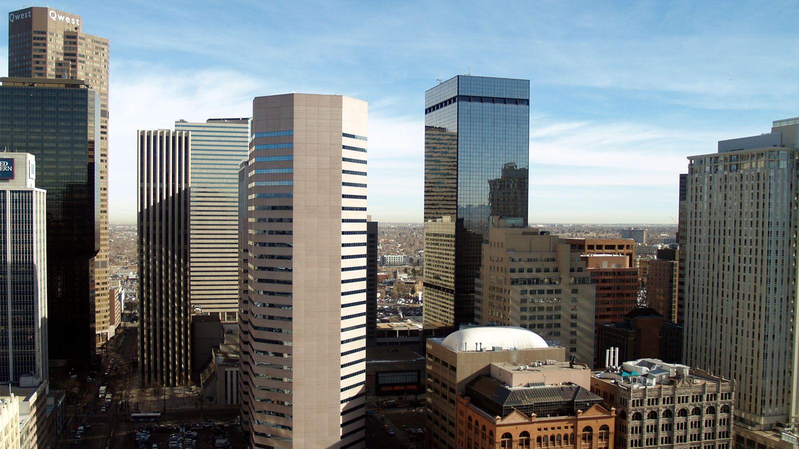 Denver Skyline Cityscape