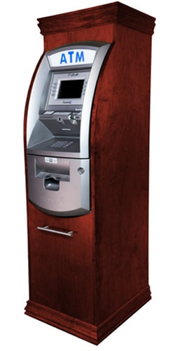 hantle tranax 1700w atm machine wooden cabinet