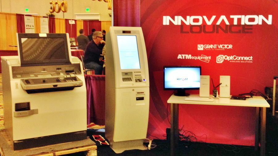 Innovation Lounge ATMIA Conference 2015 Las Vegas
