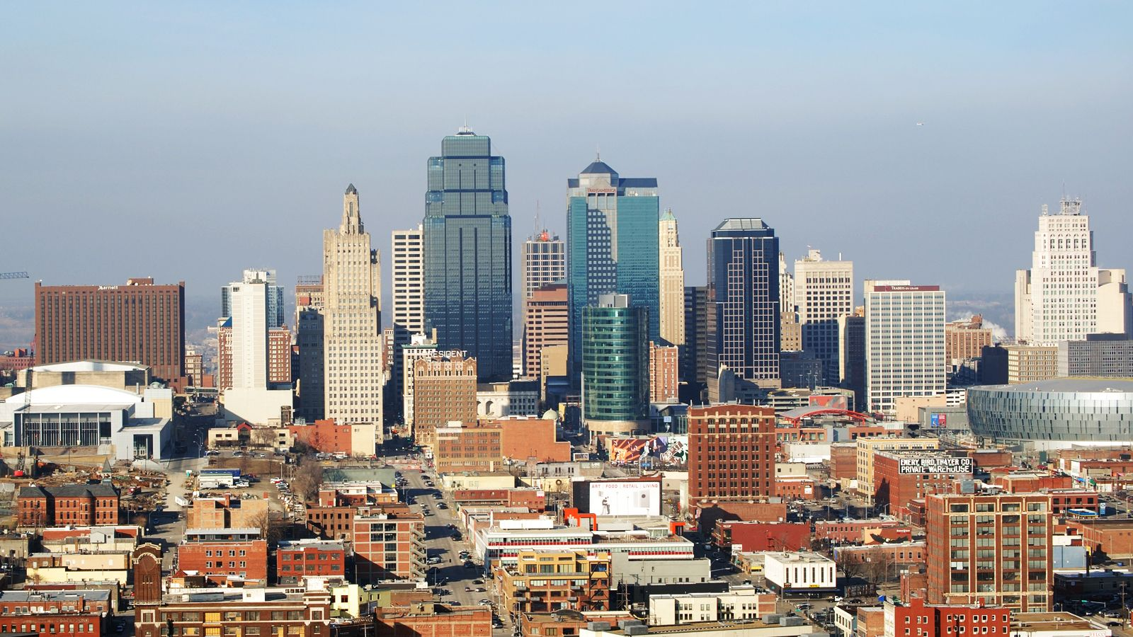 kansas city skyline during the day