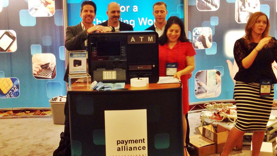 Payment Alliance International Booth at ATMIA