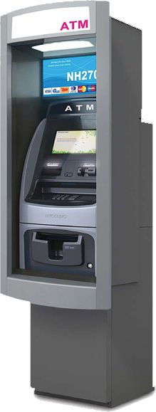 Outdoor Wall Mount And Through The Wall Atms