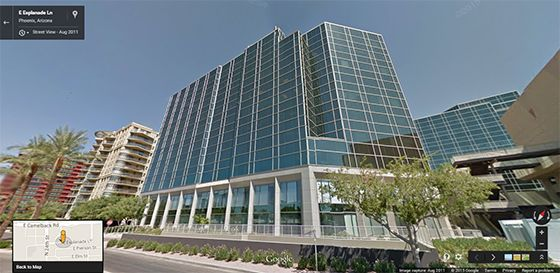 Prineta ATM Company Phoenix Arizona office building google street view image