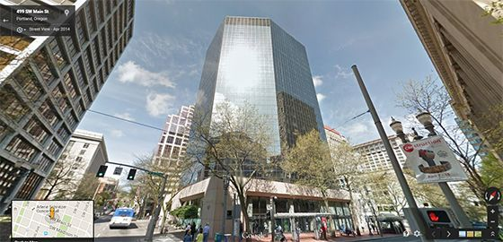 office building for ATM company in downtown portland oregon
