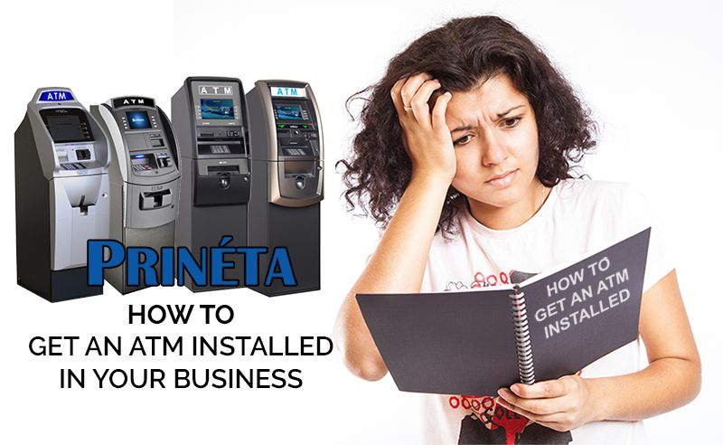 how to get an atm installed instructions with atm machine