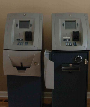 Triton 9100s with the fascia doors closed (left) and open (right)