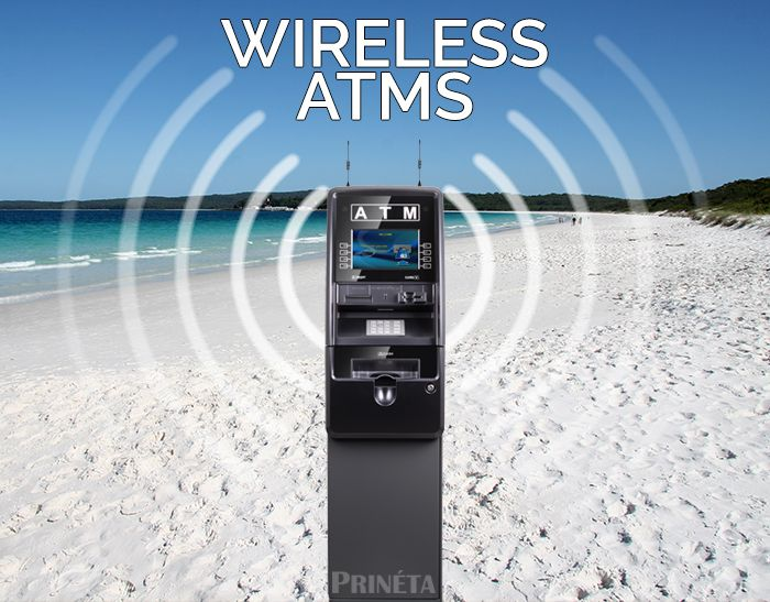 ATM wireless network connection services