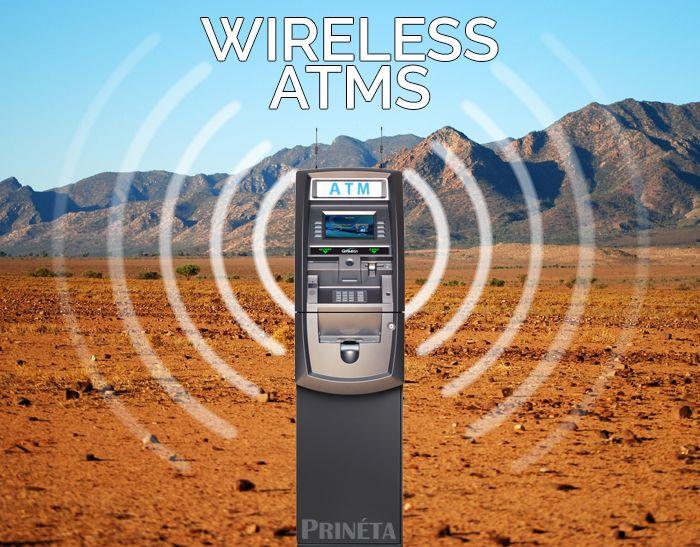 ATM machine wireless services