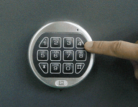 how to open atm machine without key