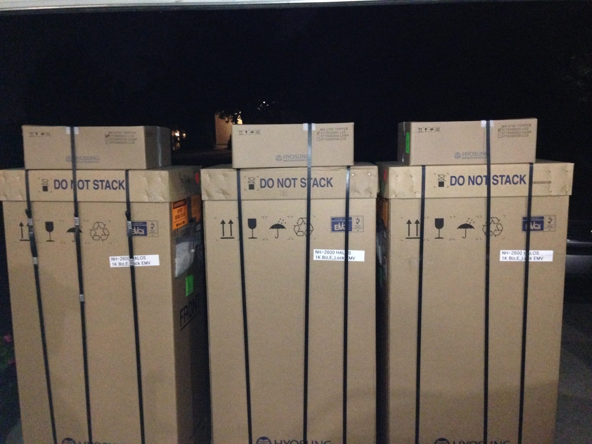 ATM Delivery - 3 ATM Machine Packages Hyosung