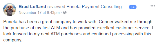 atm purchase review facebook