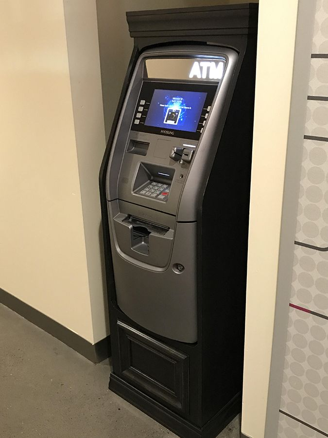 Custom Wooden Atm Machine Cabinets