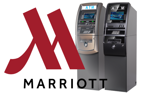 Mariott Logo with Two ATMs