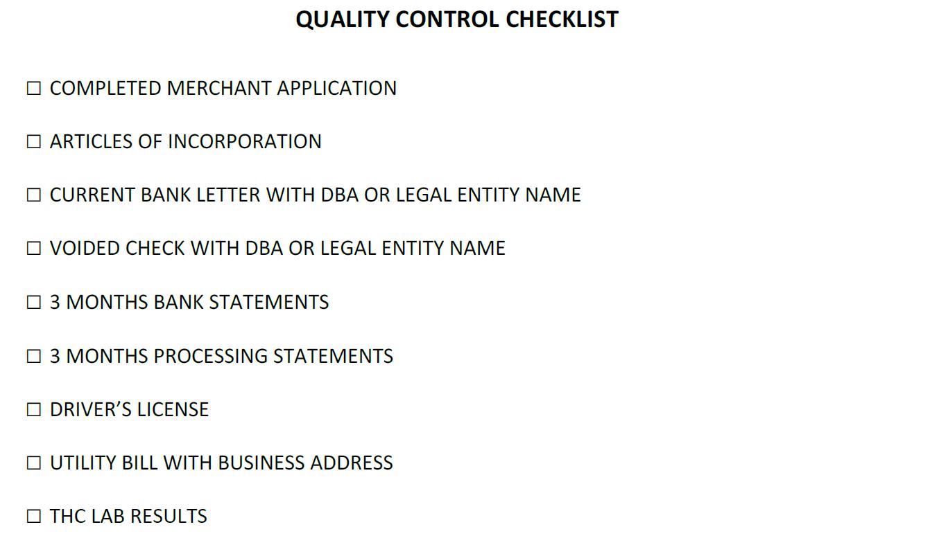 Domestic CBD merchant account on new MCC code