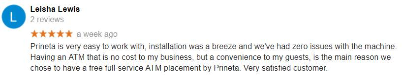 Leisha Lewis Prineta ATM Google Review-min