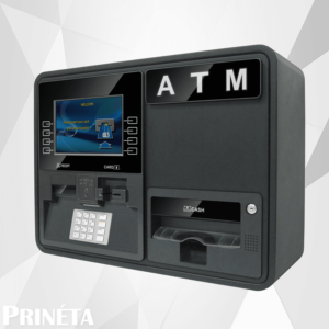 Stock Image of GenMega Onyx-W Wall Mounted ATM